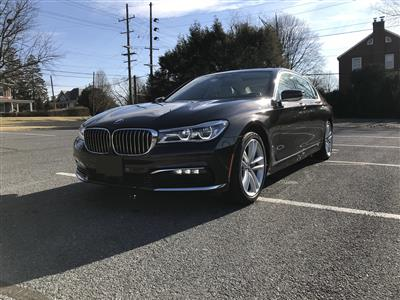 2016 BMW 7 Series lease in Washington,DC - Swapalease.com