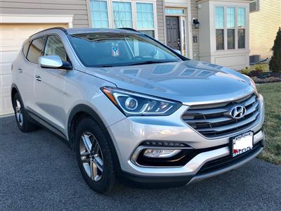 2017 Hyundai Santa Fe Sport lease in Suitland,MD - Swapalease.com