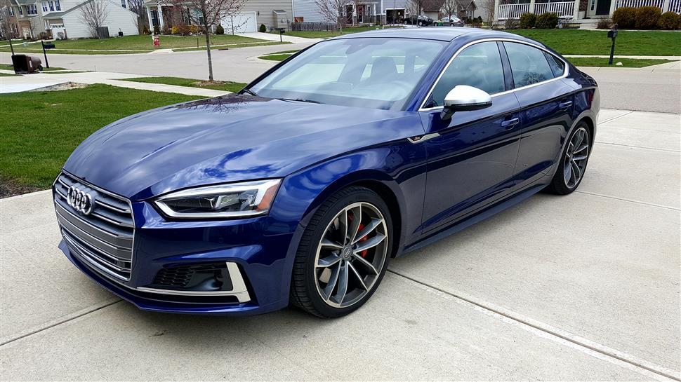 2018 Audi S5 Sportback lease in XENIA, OH