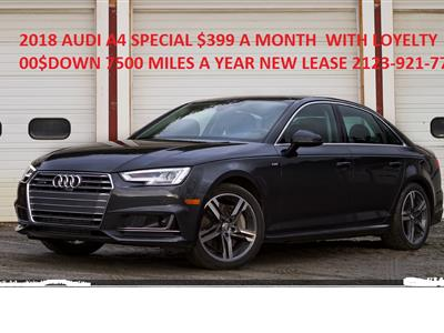 2018 Audi A4 lease in New York,NY - Swapalease.com