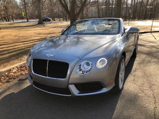 2013 Bentley Continental GTC V8 lease in Cranford, NJ