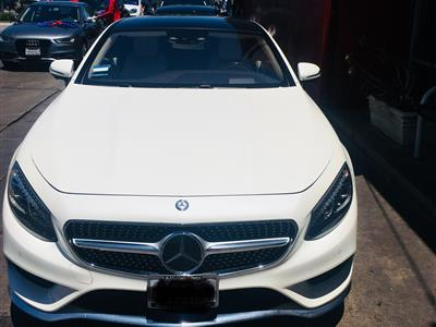 2016 Mercedes-Benz S-Class Coupe lease in Santa Monica,CA - Swapalease.com