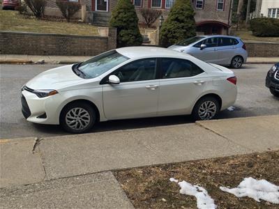 2017 Toyota Corolla lease in Bangor,PA - Swapalease.com