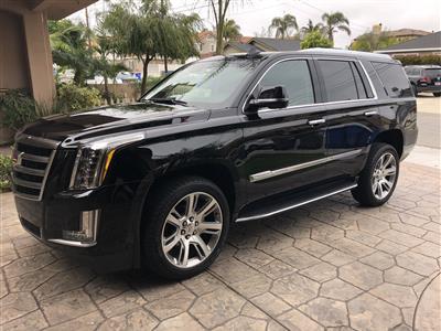 2018 Cadillac Escalade lease in Redondo Beach,CA - Swapalease.com