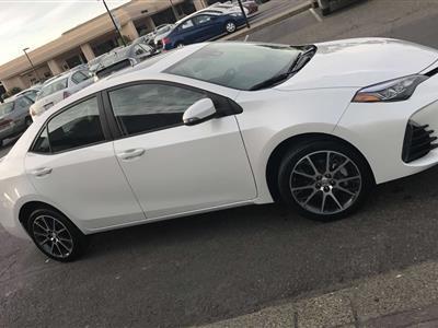 2017 Toyota Corolla lease in Santa Rosa,CA - Swapalease.com