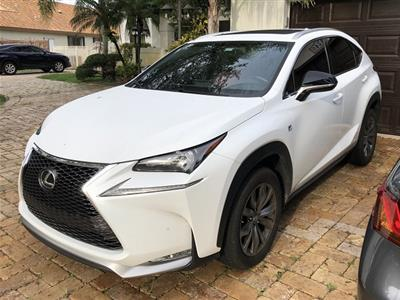 2017 Lexus NX 200t F Sport lease in Miami Lakes,FL - Swapalease.com