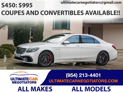 2018 Mercedes-Benz S-Class lease in Fort Lauderdale,FL - Swapalease.com