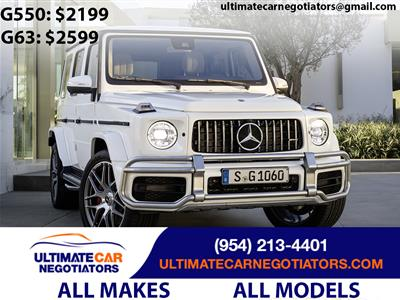 2019 Mercedes-Benz G-Class lease in Fort Lauderdale,FL - Swapalease.com