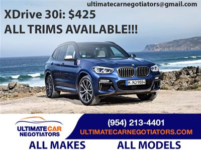 2019 BMW X3 lease in Fort Lauderdale,FL - Swapalease.com