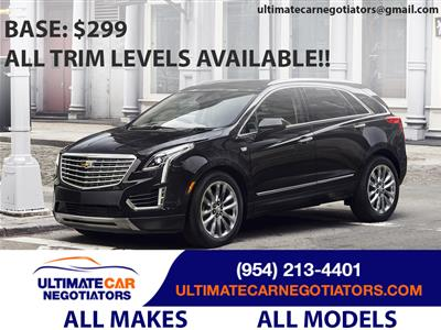 2018 Cadillac XT5 lease in Ft. Lauderdale,FL - Swapalease.com