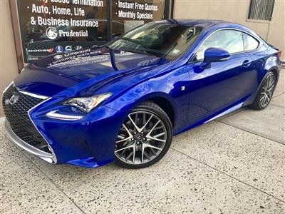 2017 Lexus RC 300 F Sport Lease In Queens ,NY   Swapalease.com
