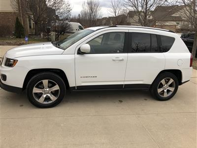 2017 Jeep Compass lease in Commerce Township,MI - Swapalease.com