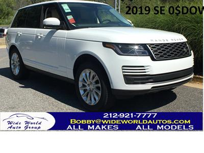 2019 Land Rover Range Rover lease in New York,NY - Swapalease.com