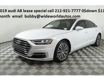 2019 Audi A8 lease in New York,NY - Swapalease.com