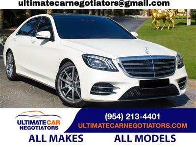 2020 Mercedes-Benz S-Class lease in Fort Lauderdale,FL - Swapalease.com