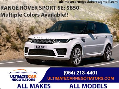 2019 Land Rover Range Rover Sport lease in Fort Lauderdale,FL - Swapalease.com