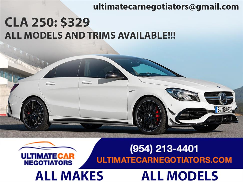 2019 mercedes benz cla coupe lease in fort lauderdale fl. Black Bedroom Furniture Sets. Home Design Ideas