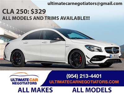 2018 Mercedes-Benz CLA Coupe lease in Ft. Lauderdale,FL - Swapalease.com