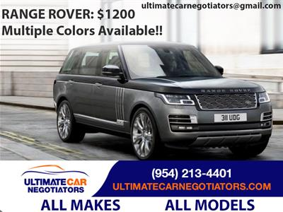 2019 Land Rover Range Rover lease in Fort Lauderdale,FL - Swapalease.com