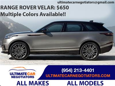 2018 Land Rover Velar lease in Ft. Lauderdale,FL - Swapalease.com