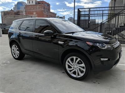 2017 Land Rover Discovery Sport lease in Long Beach,CA - Swapalease.com