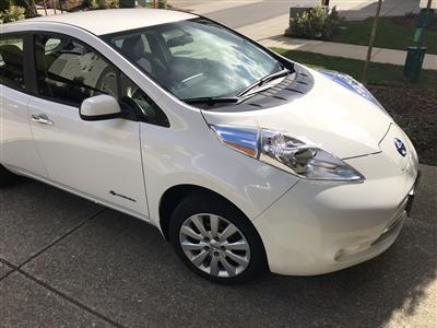 2016 Nissan LEAF lease in Issaquah,WA - Swapalease.com