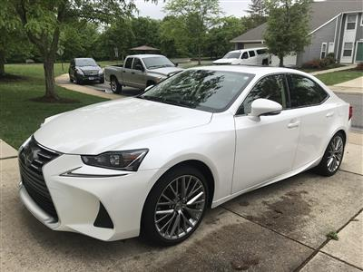 2017 Lexus IS 200t F Sport lease in Ft. Belvoir,VA - Swapalease.com