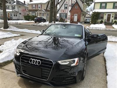 2017 Audi A5 Sport Cabriolet lease in New York ,NY - Swapalease.com