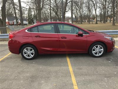 2017 Chevrolet Cruze lease in DEARBORN,MI - Swapalease.com