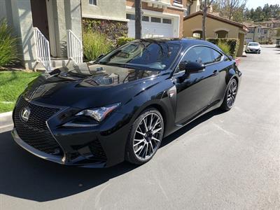2015 Lexus RC F lease in Valencia,CA - Swapalease.com