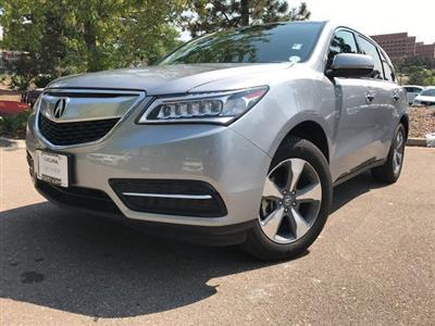 2016 Acura MDX lease in Washington,DC - Swapalease.com