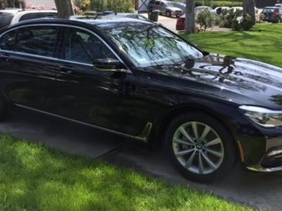 2017 BMW 7 Series lease in Valley Village,CA - Swapalease.com