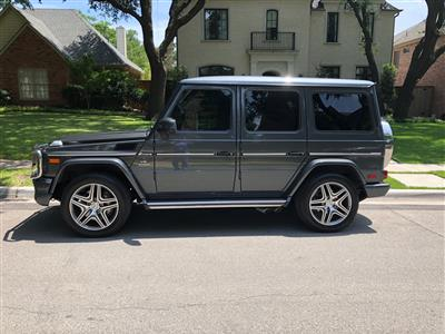 2016 Mercedes-Benz G-Class lease in Dallas,TX - Swapalease.com