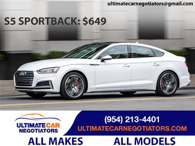 2019 Audi S5 Sportback lease in Fort Lauderdale,FL - Swapalease.com