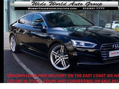2020 Audi A5 Sportback lease in New York,NY - Swapalease.com