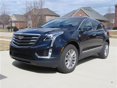 2017 Cadillac XT5 lease in Clinton Township,MI - Swapalease.com
