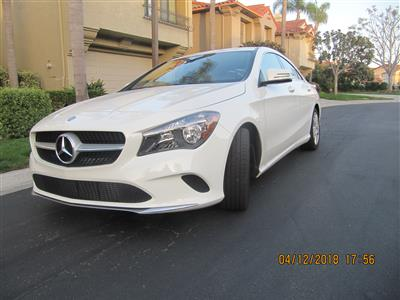 2017 Mercedes-Benz CLA Coupe lease in La Jolla,CA - Swapalease.com