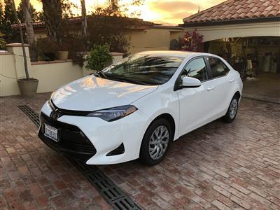 2017 Toyota Corolla lease in Playa del Rey,CA - Swapalease.com