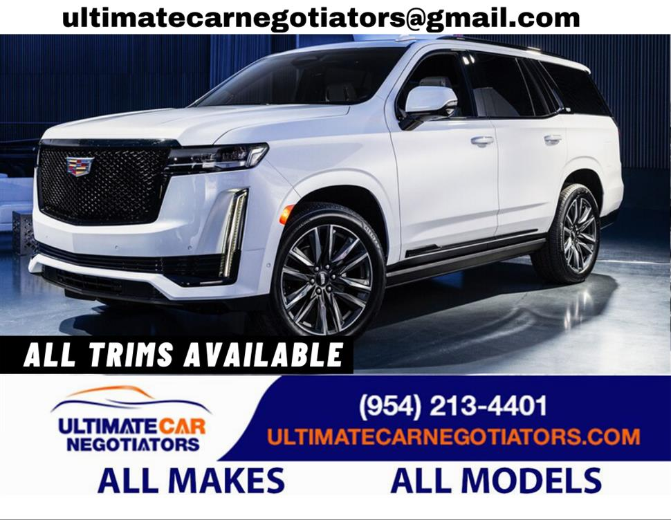 2021 Cadillac Escalade lease in Fort Lauderdale, FL