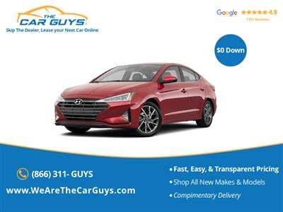 2020 Hyundai Elantra lease in brooklyn,NY - Swapalease.com