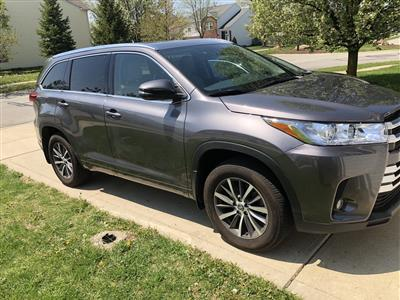 2017 Toyota Highlander lease in Fishers,IN - Swapalease.com