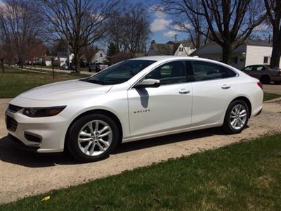 2017 Chevrolet Malibu lease in Defiance,OH - Swapalease.com