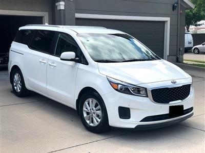 2017 Kia Sedona lease in Prosper,TX - Swapalease.com