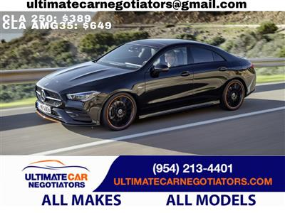 2021 Mercedes-Benz CLA Coupe lease in Fort Lauderdale,FL - Swapalease.com