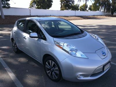 2016 Nissan LEAF lease in Irvine,CA - Swapalease.com