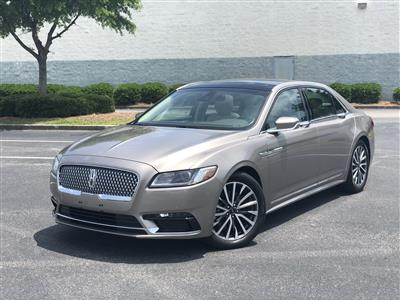 2018 Lincoln Continental lease in Myrtle Beach,SC - Swapalease.com