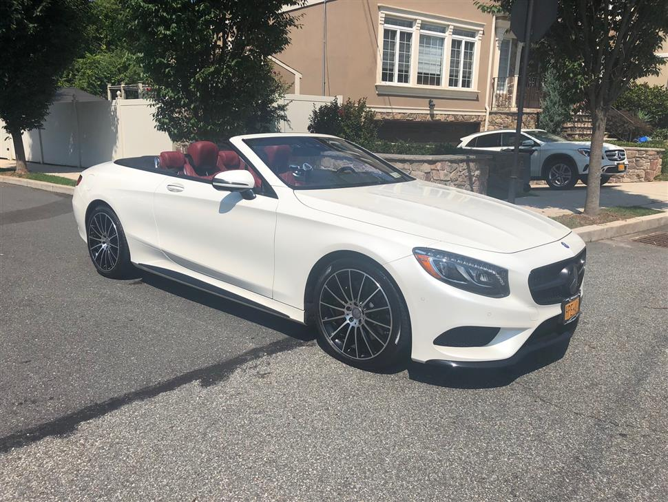 2017 Mercedes-Benz S-Class Cabriolet lease in Staten Island, NY