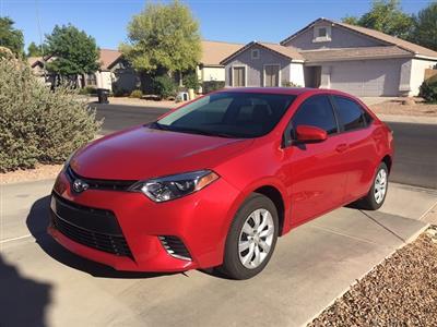 2016 Toyota Corolla lease in Chandler,AZ - Swapalease.com