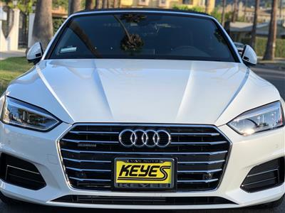 2018 Audi A5 Cabriolet lease in Sherman Oaks,CA - Swapalease.com