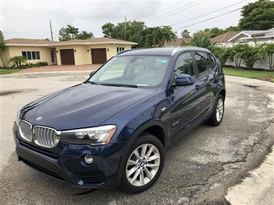 2017 BMW X3 lease in Ft. Lauderdale,FL - Swapalease.com